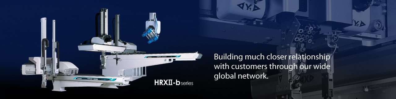 Building much closer relationship with customers through our wide global network.